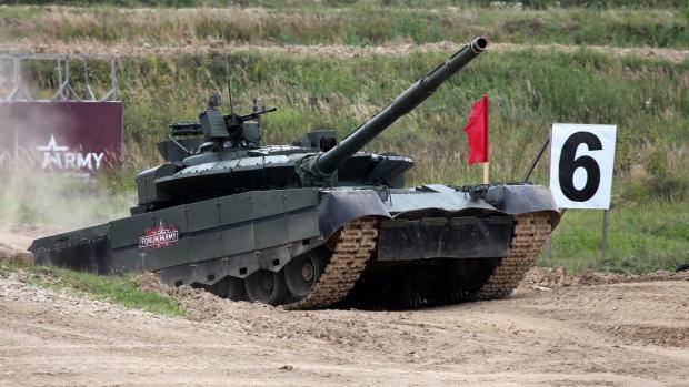 Т-80БВМ був модернізований за зразком Т-72Б3