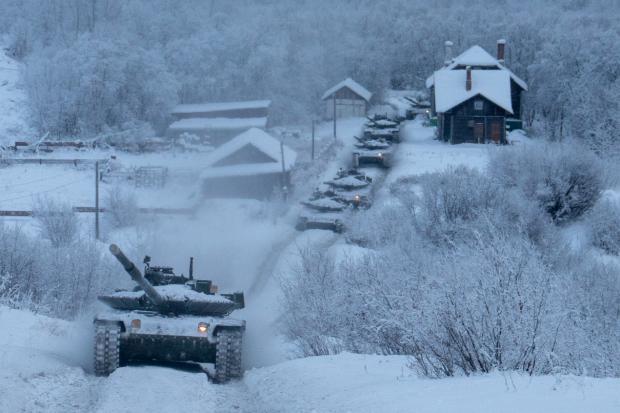 Т-80БВМ доволі часто направляють на Крайню Північ