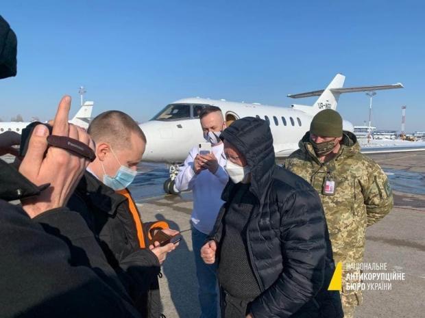 """Затримання Яценка в """"Борисполі"""""""