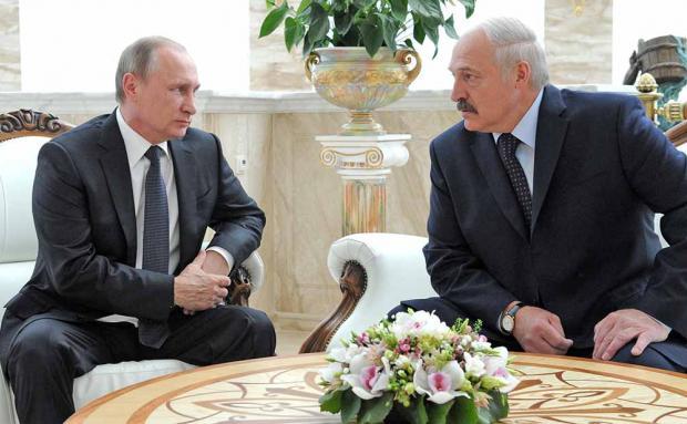 Лукашенко не зміг домовитись з Путіним про цену на газ. Фото: tvc.ru