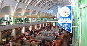 Ринок в окупованому Луганську. Фото: соцмережі.