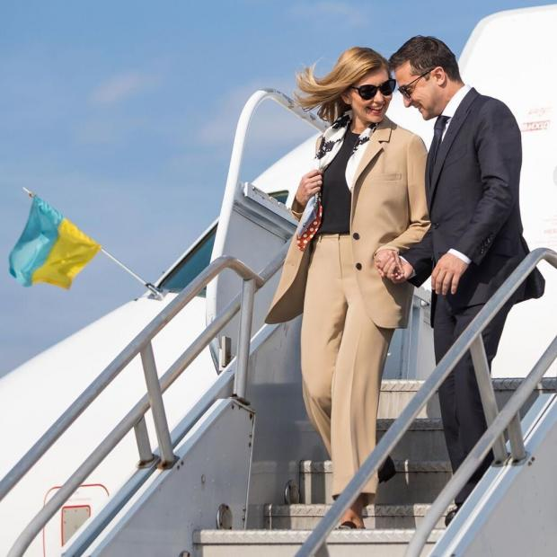 Олена і Володимир Зеленський в США