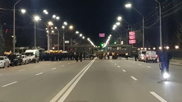 Як охороняли посольство РФ в Києві