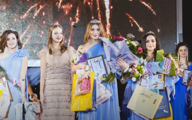 Анастасия Соломаха выиграла конкурс красоты в Харькове