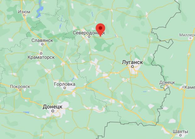 смт Смоляніново в Луганській області.