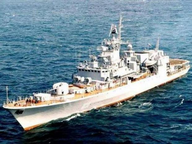 Флагман национального флота – фрегат «Гетман Сагайдачный»