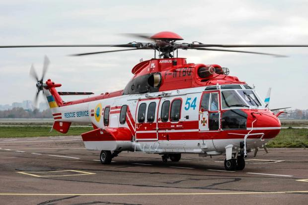 Гелікоптер H225 Super Puma із бортовим номером 54