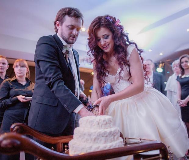 Весільне фото Михайла та Ярослави