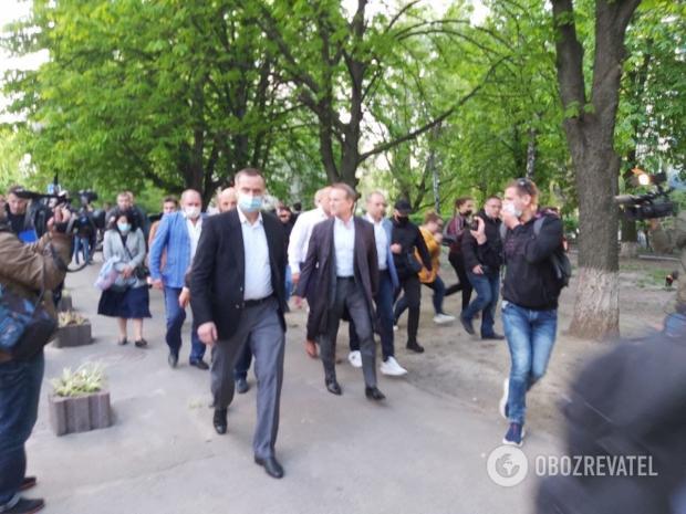 Медведчук пішов з Офісу генпрокурора
