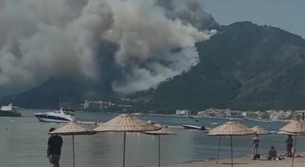 Пожежа в Мармарисі