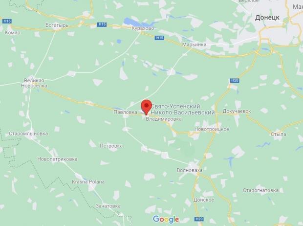 Село Микільске Донецької області.